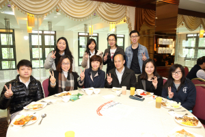 Lunch Gathering with Marketing Students - 26 February 2016