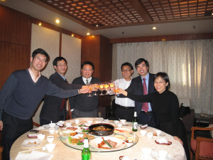 Research Team of Brand Management for Chinese Entreprises Project - 17 November 2008