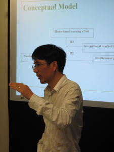 Academic Seminars from Dr. HE Liu and Dr. WU Aiqi on 19 March 2013